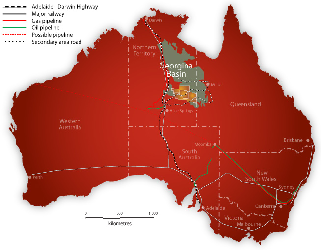 australia georgina basin